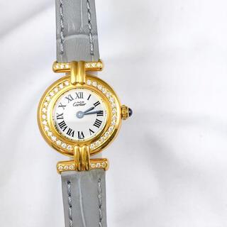 Cartier - 【仕上済/ベルト二色】カルティエ コリゼ ゴールド ダイヤ レディース 腕時計
