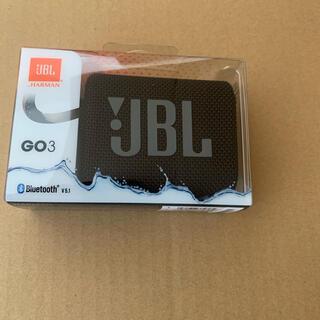 JBL GO3 Bluetooth対応 ブラック