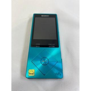 ソニー(SONY)の655 SONY ウォークマン Aシリーズ 32GB ハイレゾ音源対応 ブルー (ポータブルプレーヤー)