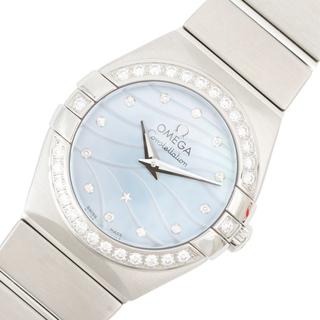 オメガ(OMEGA)のオメガ OMEGA コンステレーションポリッシュ 腕時計 レディース【中古】(腕時計)