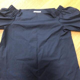 アベニールエトワール(Aveniretoile)のアベニールエトワール ネイビーシャツ(シャツ/ブラウス(半袖/袖なし))