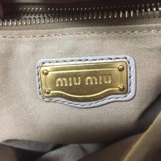 miumiu - 正規ミュウミュウバッグ確認用
