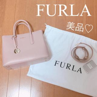 Furla - 【極美品】7/24まで値下げ♡FURLA♡フルラ♡2way♡ハンドバッグ♡ピンク
