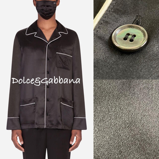 DOLCE&GABBANA - 2021SS.春夏■Dolce&Gabbana/シルクシャツ/ドルガバ 美品
