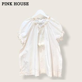 ピンクハウス(PINK HOUSE)の【PINK HOUSE】コットンブラウス ピンクハウス(シャツ/ブラウス(半袖/袖なし))