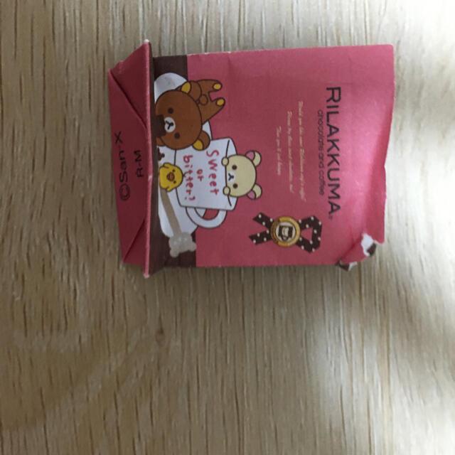 サンエックス(サンエックス)の★ぷちサンプルシリーズ リラックマ  チョコレートカフェ エンタメ/ホビーのおもちゃ/ぬいぐるみ(キャラクターグッズ)の商品写真