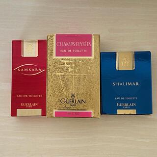 GUERLAIN - 未使用品 ゲラン シャンゼリゼ サムサラ シャリマー ミニ香水セット