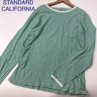 スタンダードカリフォルニア(STANDARD CALIFORNIA)のSTANDARD CALIFORNIA 長袖Tシャツ ボーダーシャツ 2406(Tシャツ/カットソー(七分/長袖))
