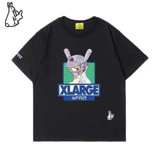 XLARGE - FR 2 x XLARGE連名限定BIker girl Exclusive Tシ