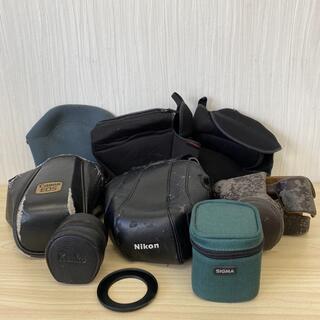 キヤノン(Canon)の【K2188】カメラケース レンズケース 9点セット (ケース/バッグ)