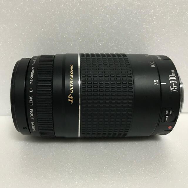 Canon(キヤノン)の極上品☆300mm超望遠☆CANON EF 75-300mm Ⅲ USM スマホ/家電/カメラのカメラ(レンズ(ズーム))の商品写真