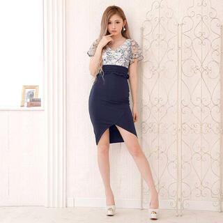 デイジーストア(dazzy store)のキャバ ドレス シアー レース ワンピース セクシー ナイトドレス キャバ(ナイトドレス)
