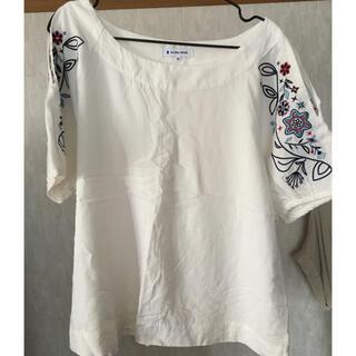 グローバルワーク(GLOBAL WORK)のシャツ 肩開き Mサイズ グローバルワーク(シャツ/ブラウス(半袖/袖なし))