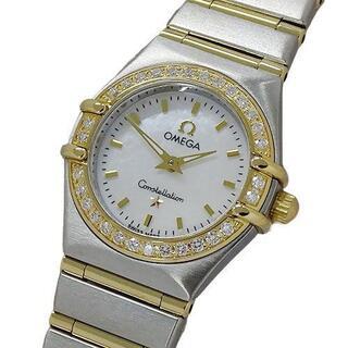オメガ(OMEGA)のオメガ 時計 1267.70 コンステレーションミニ ダイヤベゼル シェル(腕時計)