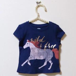 オールドネイビー(Old Navy)のOLDNAVY♡新品♡80♡Tシャツ・馬(Tシャツ)