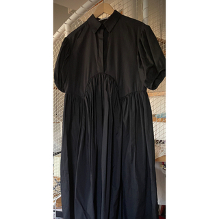 Drawer - CECILIE BAHNSEN(セシリー バンセン)シャツドレス ブラック