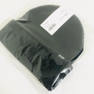 ハフ(HUF)のHUF ビーニー ニット帽 ニットキャップ ハフ ブラック(ニット帽/ビーニー)