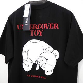 UNDERCOVER - 新品 定価13200円 アンダーカバー ベアー トイ プリント Tシャツ 黒