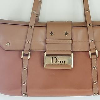 クリスチャンディオール(Christian Dior)のChristian Diorストリートシック 茶色 中古(ショルダーバッグ)