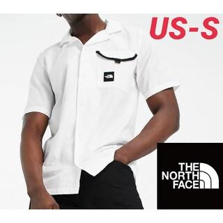ザノースフェイス(THE NORTH FACE)のノースフェイス ポケットトリムオープンカラーシャツ 海外Sサイズ 新品未使用(シャツ)