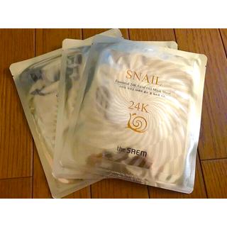 the saem - 【新品】Essential 24K Gold Gel Mask Sheet