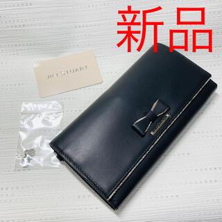 JILLSTUART - 新品 ジルスチュアート かぶせ長財布 黒 Jillstuart レディース