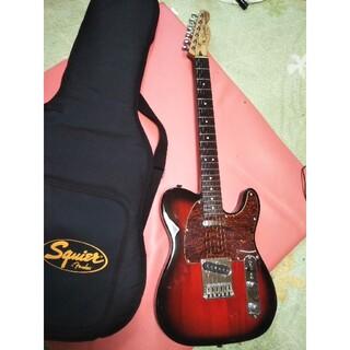 フェンダー(Fender)のスクワイヤースタンダードテレキャスターレッドサンバースト(エレキギター)