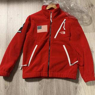 シュプリーム(Supreme)のSupreme/TNF Trans AE Fleece Jacket Sサイズ(ブルゾン)