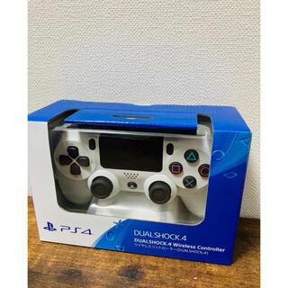 PlayStation4 - 【新品未開封】ソニー PS4 純正 コントローラー グレイシャーホワイト