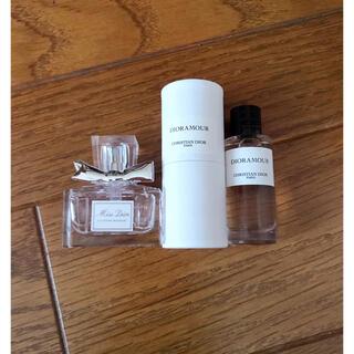 DIORミニ香水セット ミスディオール、DIORAMOUR