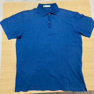 グローバルワーク(GLOBAL WORK)のGLOBAL WORK グローバルワーク ポロシャツ ブルー 襟 シャツ(ポロシャツ)