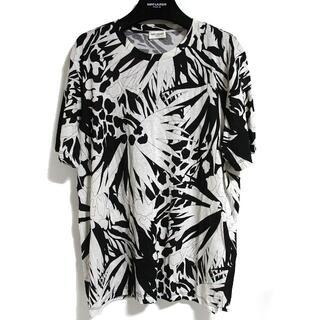 サンローラン(Saint Laurent)の未使用 サンローラン 登坂着 ツリー ボタニカル フラワー Tシャツ カットソー(Tシャツ/カットソー(半袖/袖なし))