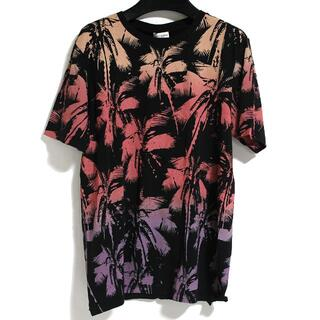 サンローラン(Saint Laurent)の20SS 未使用 サンローラン パームツリー グラフィックTシャツ カットソー (Tシャツ/カットソー(半袖/袖なし))