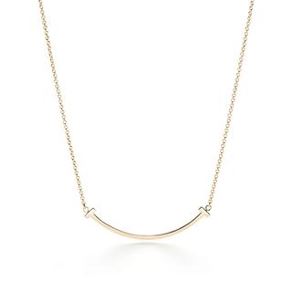 Tiffany & Co. - ティファニー Tスマイル ペンダント ネックレス スモール イエローゴールド
