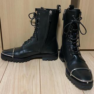 アレキサンダーワン(Alexander Wang)の値下げ不可!アレキサンダーワン コンバットブーツ 40サイズ(ブーツ)