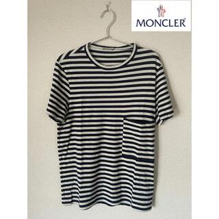 MONCLER - MONCLER モンクレール Tシャツ ボーダー