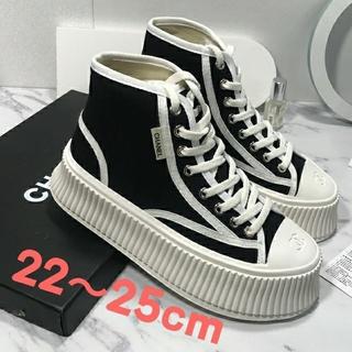 CHANEL - Chanel ズック靴 厚底靴