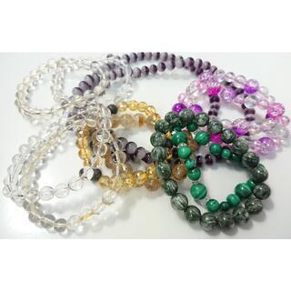 数珠 パワーストーン ブレスレット おまとめ 11点(ブレスレット/バングル)