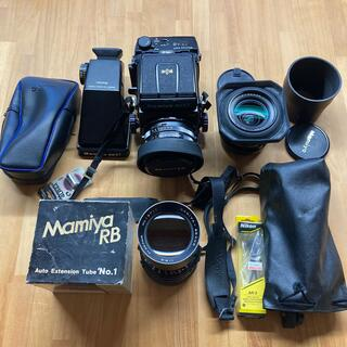 Mamiya RB67 ProS レンズ3本 付属品多数