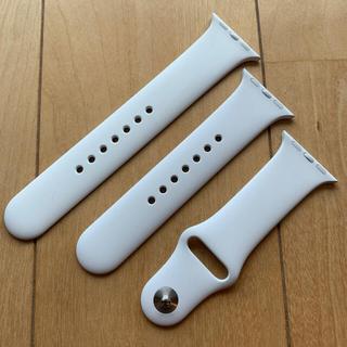 Apple Watch - 未使用 Apple Watch 純正 スポーツバンド ホワイト 38/40mm