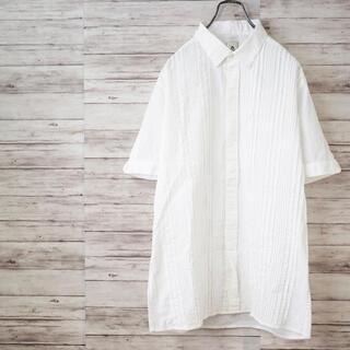マンドゥ(MANDO)のmando 半袖プリーツシャツ(シャツ)