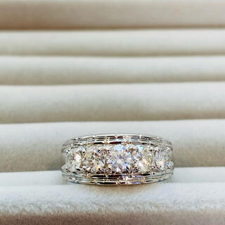 ジュエリーマキ(ジュエリーマキ)の美品 ジュエリーマキ 1カラット超 ダイヤモンドリング プラチナ(リング(指輪))