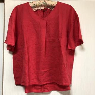 chocol raffine robe - 麻混 トップス ショコラフィネローブ