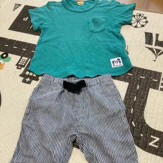 ムージョンジョン(mou jon jon)のムージョンジョン Tシャツ マザウェイズ パンツ セット 110(Tシャツ/カットソー)
