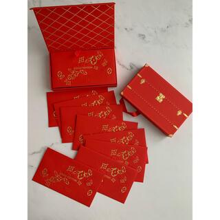 ルイヴィトン(LOUIS VUITTON)のルイヴィトン ノベルティ 封筒 ポチ袋 2021年 8枚セット BOX入り(その他)
