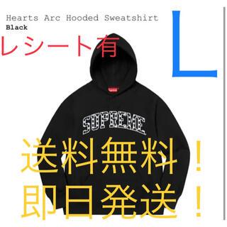 Supreme - 【新品】supreme Hearts Arc Hooded Sweatshirt