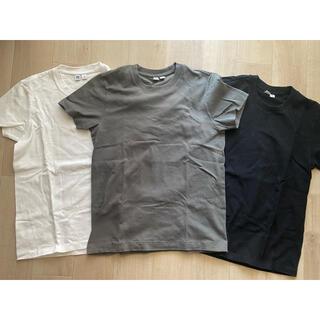 UNIQLO - ユニクロ Tシャツ UT 半袖 ホワイトオリーブ ブラック Mサイズ