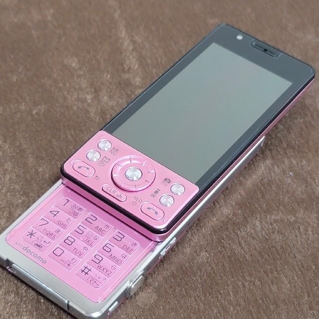 NTTdocomo(エヌティティドコモ)のdocomo【P-03C】3Gケータイ/ガラケー/iモードケータイ スマホ/家電/カメラのスマートフォン/携帯電話(携帯電話本体)の商品写真