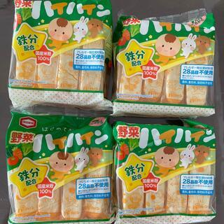 カメダセイカ(亀田製菓)のハイハイン 野菜4袋(菓子/デザート)