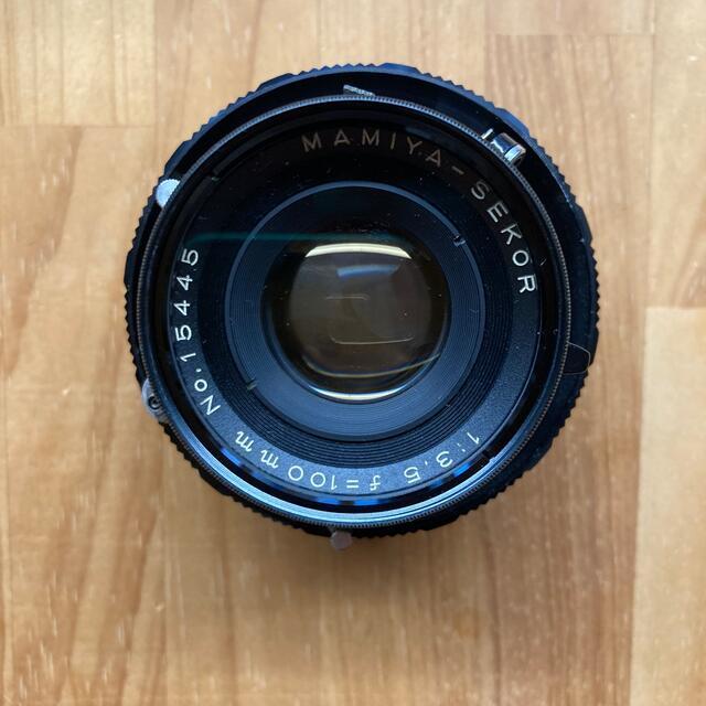 USTMamiya(マミヤ)のMamiya perss super 23 中盤 レンズ2本 動作未確認 スマホ/家電/カメラのカメラ(フィルムカメラ)の商品写真